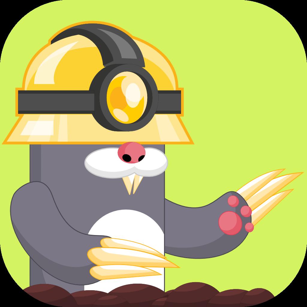 Miner Mole app icon
