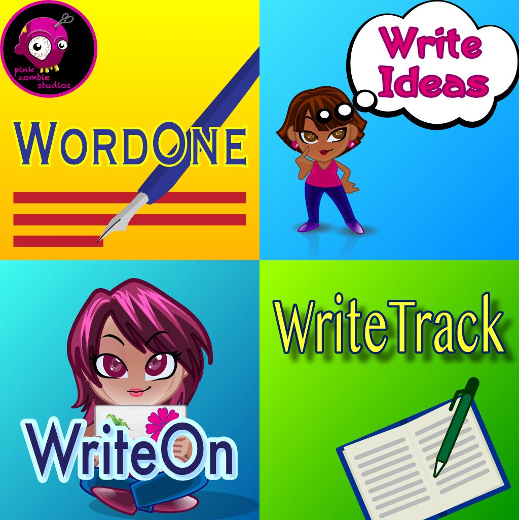 Writing Apps - WriteIdeas, WordOne, WriteOn, WriteTrack